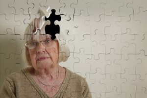 old lady losing mind; puzzle